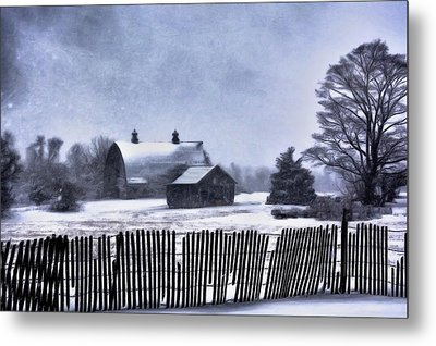 Metal Print featuring the photograph Winter by Mark Fuller