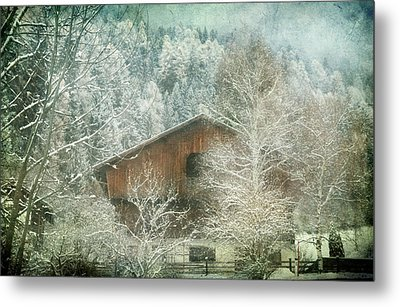Winter Mood Metal Print