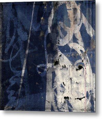 Winter Nights Series Four Of Six Metal Print by Carol Leigh