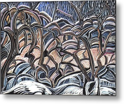 Winter Orchard Metal Print by Grace Keown