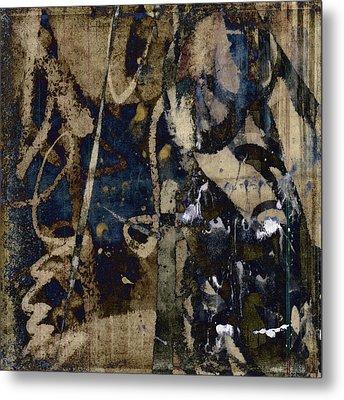 Winter Rains Series Four Of Six Metal Print by Carol Leigh
