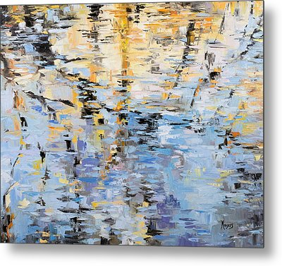 Winter Reflections Metal Print by Mike Moyers