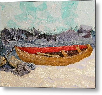 Winter Rest Metal Print by Terry Honstead