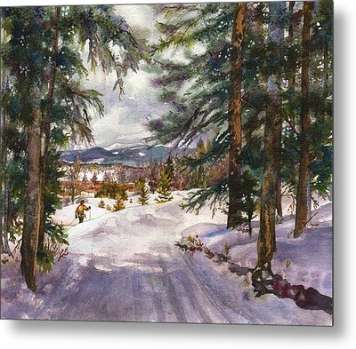 Winter Solace Metal Print by Anne Gifford