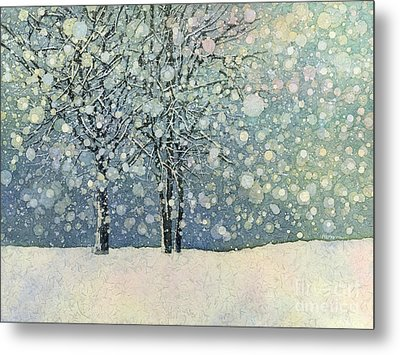 Winter Sonnet Metal Print by Hailey E Herrera