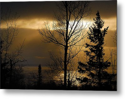 Winter Sunrise 1 Metal Print by Sebastian Musial