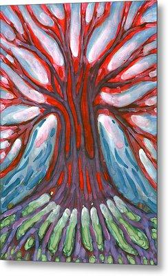 Winter Tree Metal Print by Wojtek Kowalski