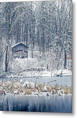 Winter Wonderland 1 Metal Print by SharaLee Art