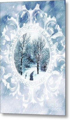 Winter Wonderland Metal Print by Amanda Elwell