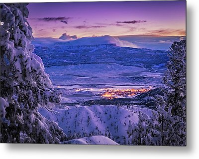 Winter Wonderland Metal Print by Edgars Erglis