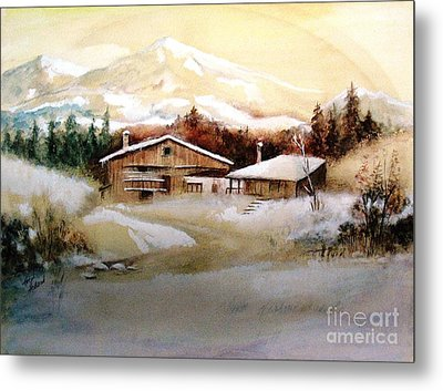 Winter Wonderland  Metal Print by Hazel Holland