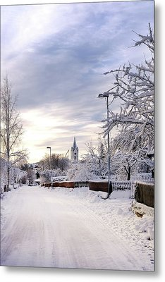 Winter Wonderland Redux Metal Print