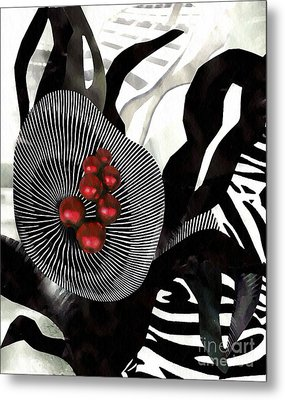 Winterberries Metal Print