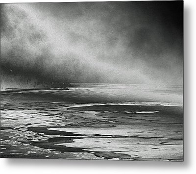Metal Print featuring the photograph Winter's Song by Steven Huszar