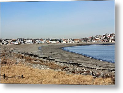 Winthrop Ma Metal Print by Becca Brann