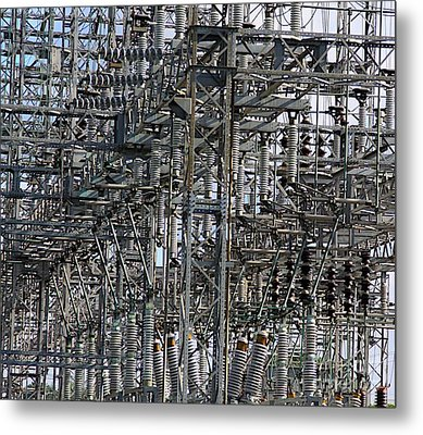 Wired Metal Print by Robert Pearson