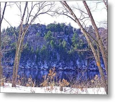 Wisconsin River 3 Metal Print by Dave Dresser