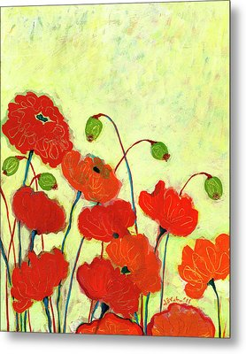 Wishful Blooming Metal Print by Jennifer Lommers