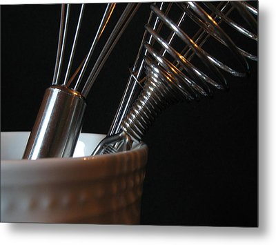Metal Print featuring the photograph Wisks by Kim Pascu