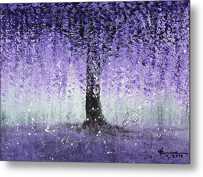 Wisteria Dream Metal Print
