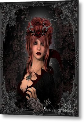 Witch Beauty Metal Print