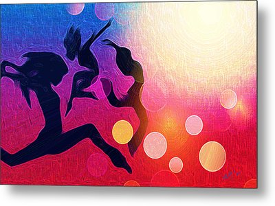 Witches Dance Metal Print