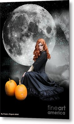 Witching Hour  Metal Print by Crispin  Delgado