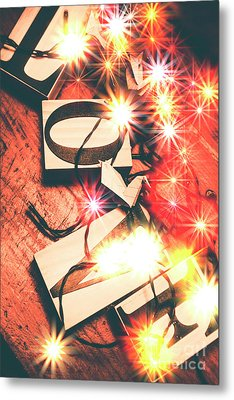 With Love And Lights Metal Print by Jorgo Photography - Wall Art Gallery