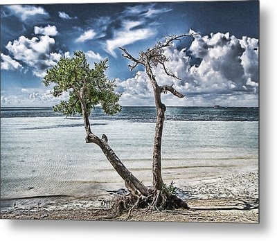 With Or Without You Metal Print