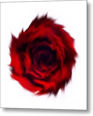 With Wind.. Metal Print