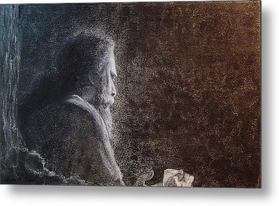 Within The Flicker Of Dreams Metal Print