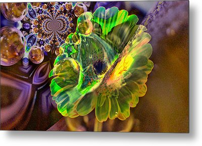 Metal Print featuring the photograph Within The Mind Meld by Jeff Swan