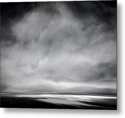 Without Color Metal Print