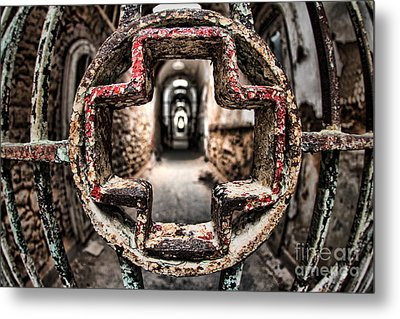 Without Salvation Metal Print by Andrew Paranavitana