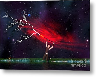 Wizard Metal Print by Corey Ford