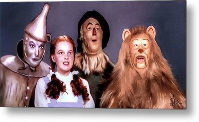 Wizard Of Oz Metal Print by Pennie  McCracken