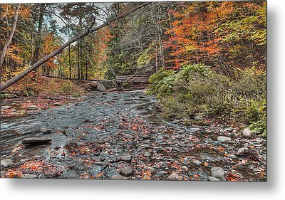 Wolf Creek At Letchworth State Park, Ny Metal Print