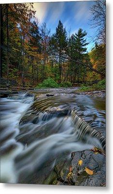 Wolf Creek Autumn Metal Print