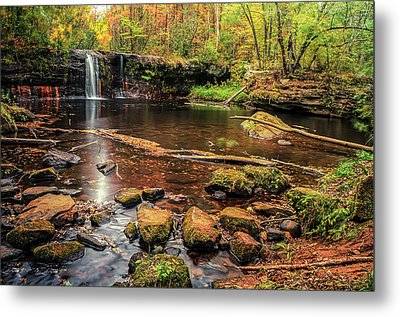 Wolf Creek Falls Metal Print
