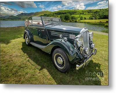 Metal Print featuring the photograph Wolseley Classic Car by Adrian Evans
