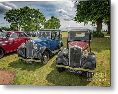 Metal Print featuring the photograph Wolseley Motors by Adrian Evans