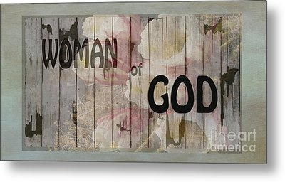 Woman Of God Metal Print by Beverly Guilliams