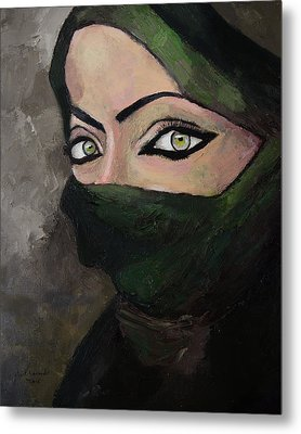 Woman Of The Gulf Metal Print by Mark Alexander