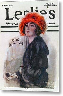 Women Voting, 1920 Metal Print by Granger