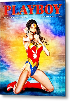 Wonder Woman 2085 Metal Print