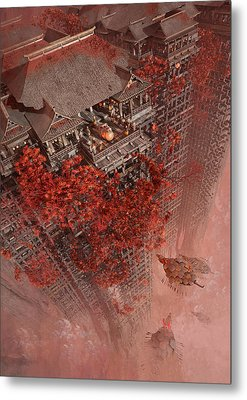 Wonders Liyomizu Metal Print by Te Hu