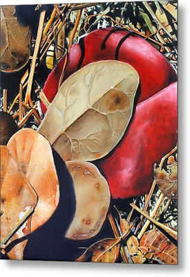 Woodbine's Fall Metal Print