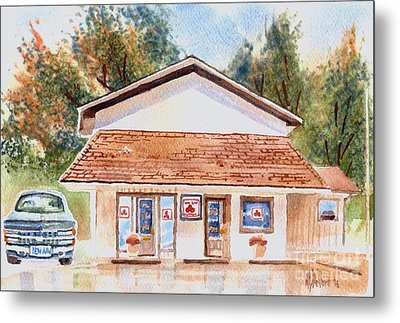 Woodcock Insurance In Watercolor  W406 Metal Print by Kip DeVore