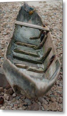 Wooden Boat1 Metal Print
