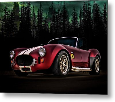 Woodland Cobra Metal Print by Douglas Pittman